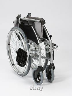 Ultra Lightweight aluminium folding self propel wheelchair quick release wheels