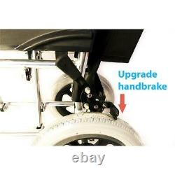 Ultra lightweight Aluminium Travel Wheelchair Fully Folding Portable UK Seller