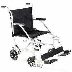 Ultralight Swift Lightweight Folding Travel Chair Wheelchair with Bag