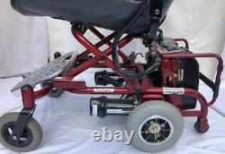 Ultralite 760 Electric Wheelchair lightweight easy to drive simple to fold
