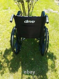Used lightweight folding wheelchair