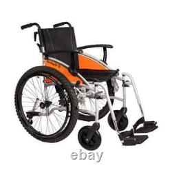 Van Os Excel G-Explorer 24 Wheels Wheelchair, Lightweight BRAND NEW 50cmx43cm