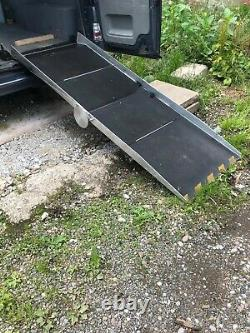 Vehicle Lightweight Folding Portaramp Mobility Wheelchair Access Ramps