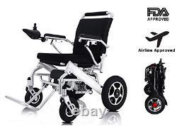 Wheelchair Folding Power Electric Lightweight Cruiser Drive Medical Mobility