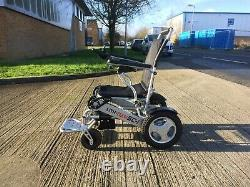 Wheelchair Powered Folding Lightweight Lith-Tech Smart Chair 1 Slightly used
