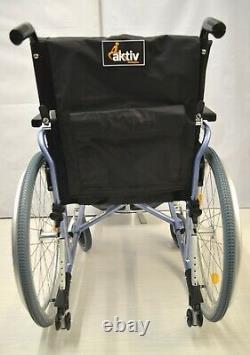 Wheelchair with Elevating Legrest Leg Support Aktiv X3 Pro Lightweight Folding