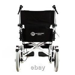 Wheelwing Aluminium Travel Wheelchair Lightweight Fully Folding Attendant Chair