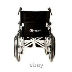 Wheelwing Aluminium Travel Wheelchair Lightweight Fully Folding Self Propelled