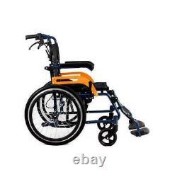 Wheelwing Ultra Lightweight Folding Aluminium Transit Self Propelled Wheelchair