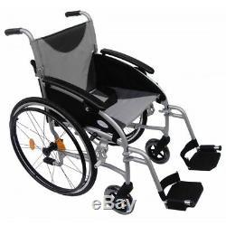 Z-Tec Lightweight Folding Aluminium Self Propelled Wheelchair ZT LITE SP 18
